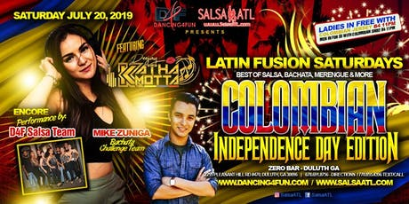 Colombian Independence Day Salsa Party at Zero Bar Sat July 20th tickets