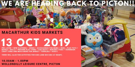 Macarthur Kids Markets - October Event Stallholder Booking - Picton tickets