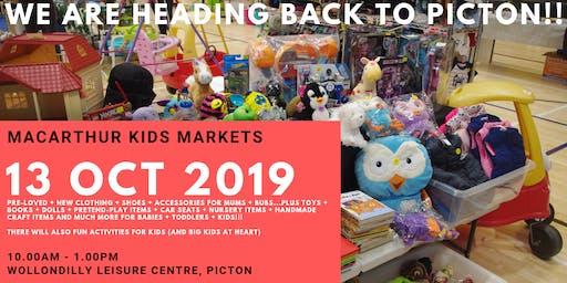 Macarthur Kids Markets - October Event Stallholder Booking - Picton