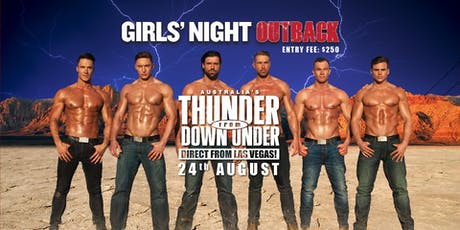 Club Cubic Presents Thunder From Down Under tickets