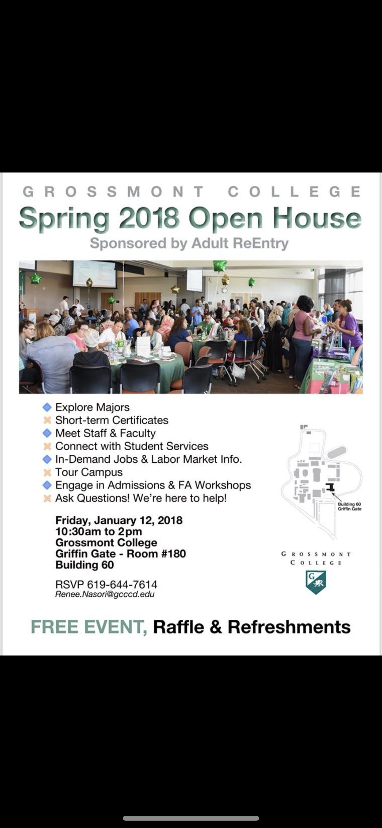 Adult Reentry Fall 2019 Open House