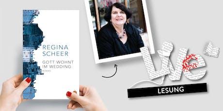 LESUNG: Regina Scheer Tickets