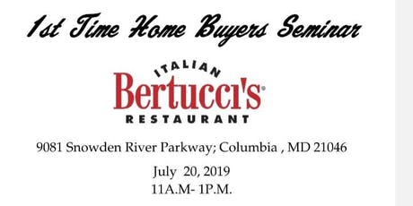 1st Time Homebuyers Seminar tickets