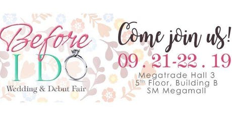 37th Before I Do - Wedding & Debut Fair tickets