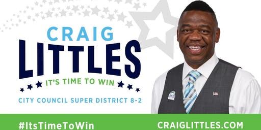 Chat & Chew w/City Council Candidate Craig Littles