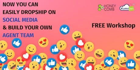 FREE WORKSHOP Win Sales Easily On Facebook, WhatsApp, Wechat tickets