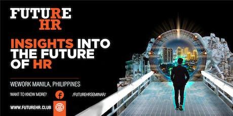 Future HR Manila tickets