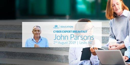Cyber Expert Breakfast: John Parsons in Levin