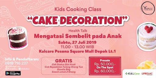 Kids Cooking Class & Health Talk Mengatasi Sembelit pada Anak