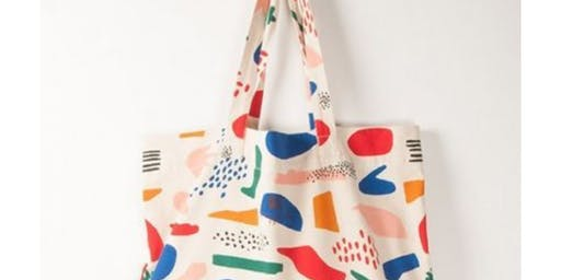 BrisStyle + City Winery Creative Workshops :: Handstamped Tote Bags