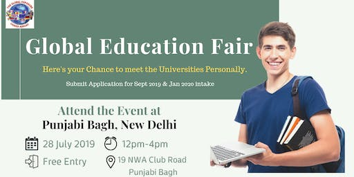 Want to Study Abroad? Attend the Global Education Fair 2019 in New Delhi