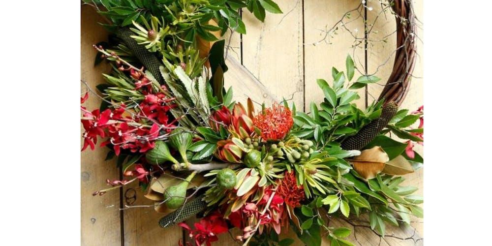 Christmas Wreaths.Brisstyle City Winery Creative Workshops Christmas Wreaths