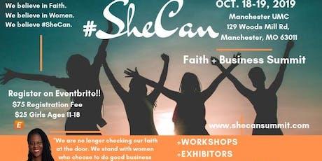 #SheCan Summit tickets