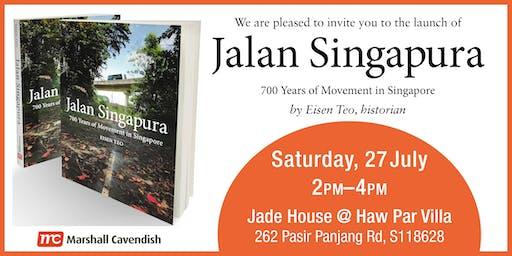 Book Launch of Jalan Singapura