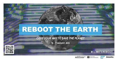 #ClimateReboot Hackathon tickets