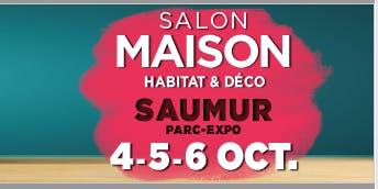 """Le salon Maison de Saumur """"Habitat & Déco"""""""