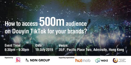 How to access 500m audience on Douyin TikTok for your brands? tickets