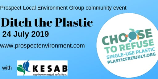 Ditch the Plastic - Plastic Free July