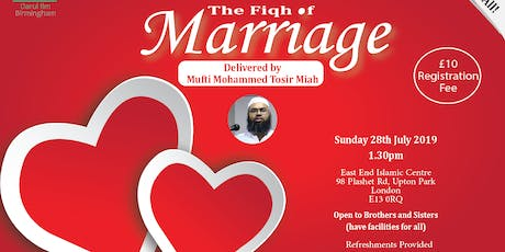 Fiqh of Marriage tickets
