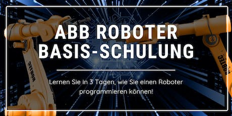ABB Roboter Basis-Schulung 3 Tage Tickets