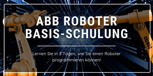 ABB Roboter Basis-Schulung 3 Tage