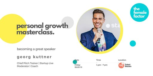 the female factor masterclass | become a great speaker