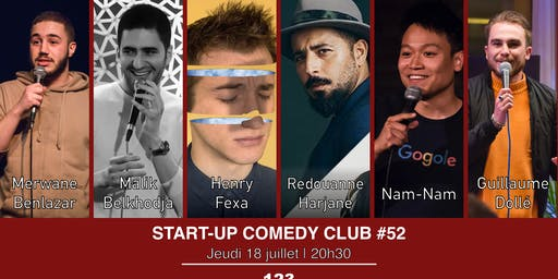 Start-up Comedy Club #52 (Spécial Sébastopol 5)