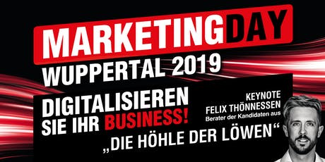 Marketing Day Wuppertal 2019 - WORKSHOPS • LIVE EVENTS • GET-TOGETHER & BBQ Tickets