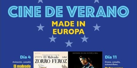 "Cine de Verano ""Made in Europa"". ""Loving Vincent"" entradas"