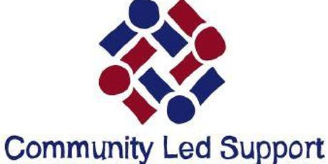 Community Led Support Workshop 23 July - Afternoon tickets