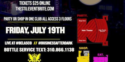 Friday July 19th- ShowcaseTurnUp LIVE @Belasco DTLA