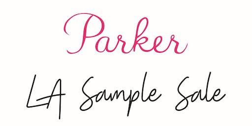 PARKER Sample Sale