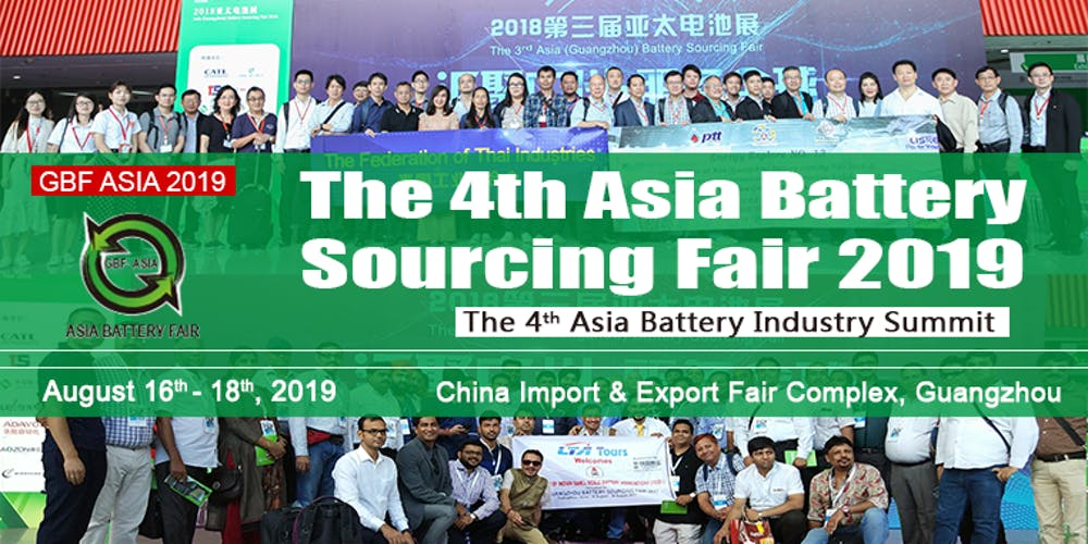 The 4th Asia Battery Sourcing Fair 2019 Tickets, Fri, Aug 16, 2019