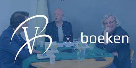 VB Boeken: podcast met Mark van Twist en Hans de Bruijn tickets