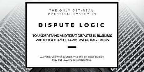 Dispute Logic for Business: Adelaide (18-19 October 2019) tickets