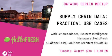 Supply Chain Data: Practical Use Cases tickets