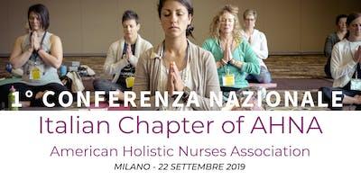 Conferenza Nazionale American Holistic Nurses Association ITALIA