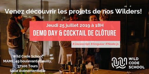 Wild Démo & cocktail de clôture Promotion Février 2019