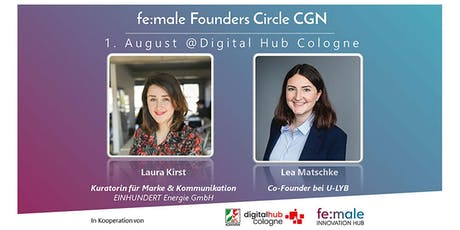 fe:male Founders Circle Köln beim Digital Hub Cologne tickets