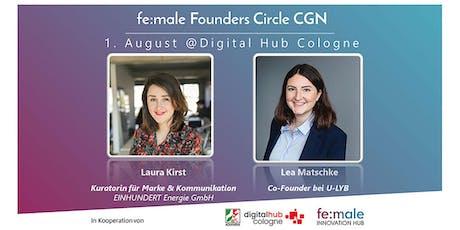 fe:male Founders Circle Köln beim Digital Hub Cologne Tickets