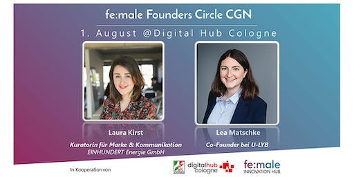 fe:male Founders Circle Köln beim Digital Hub Cologne