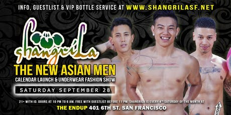 ShangriLa - Asian Men Calendar Launch & Underwear Fashion Show tickets