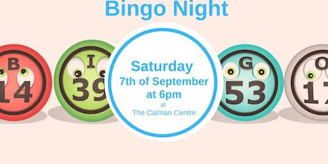 Bingo Night at the Calman Centre tickets