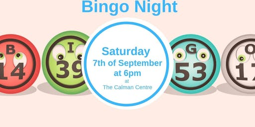 Bingo Night at the Calman Centre
