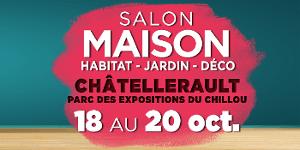 """Le Salon Maison de Châtellerault """"Habitat & Déco"""""""