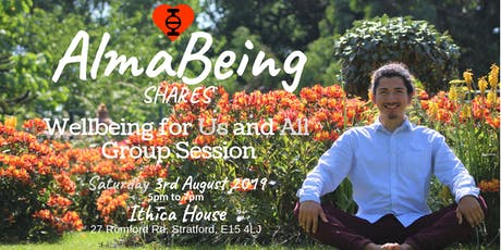 AlmaBeing℠ shares Wellbeing for Us and All Group Session tickets