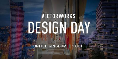 Vectorworks Annual Design Day UK 2019 tickets