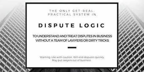 Dispute Logic for Business: Manhattan (24-5 Jan 2020) tickets