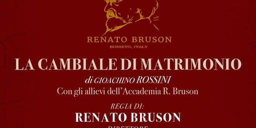 LA CAMBIALE DI MATRIMONIO di Gioachino Rossini
