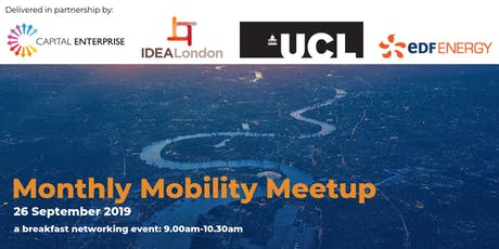 IDEALondon Monthly Mobility Meetup tickets